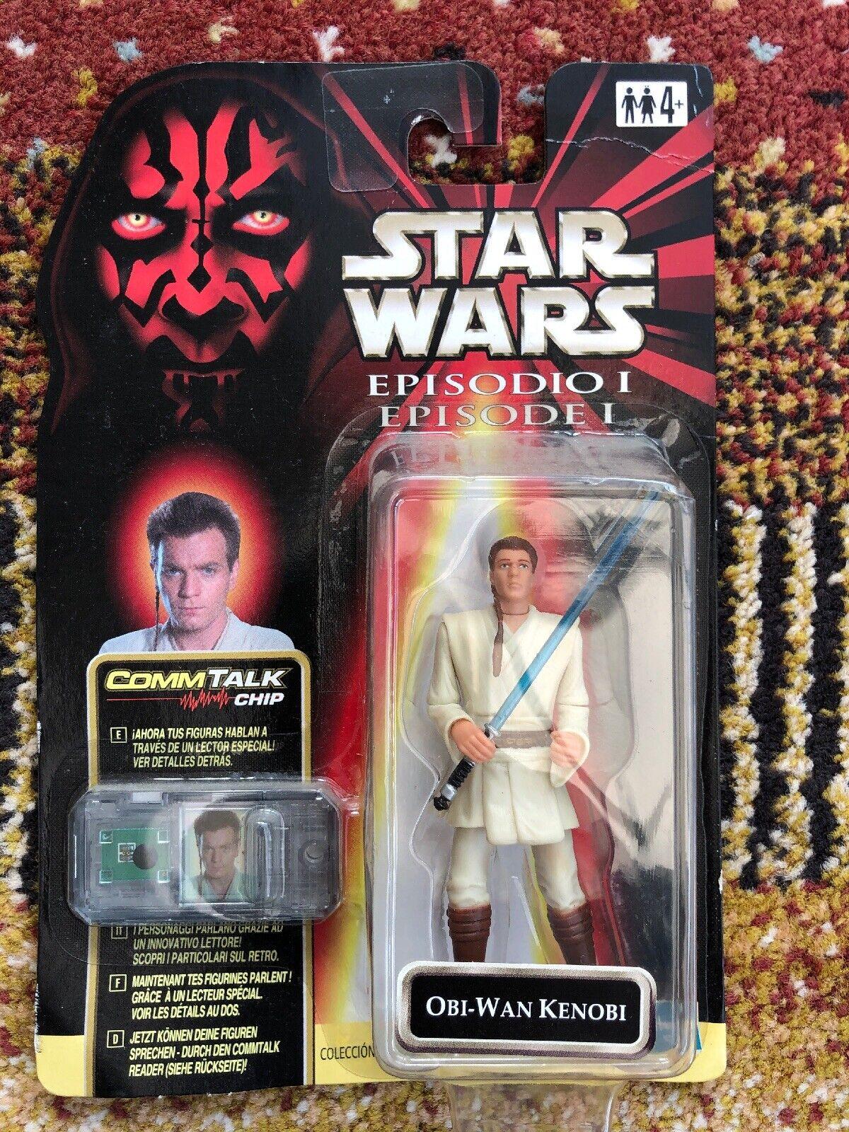 Hasbro STAR WARS   Episode 1 Obi-Wan Kenobi, Unopened.
