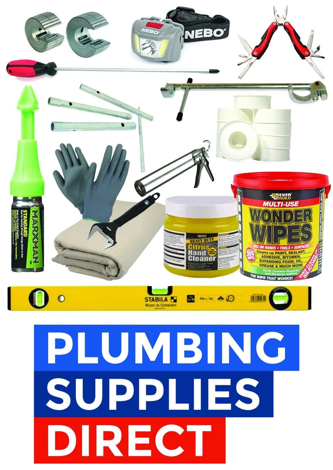 Professional Plumbing Tool Kit - Complete Tool set - Ideal Apprentice   Starter