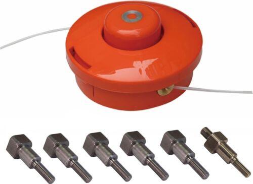 2 linea Tap /& Go decespugliatore in nylon Testa Con 6 Bulloni Adatti a 95/% di tutte le Strimmers