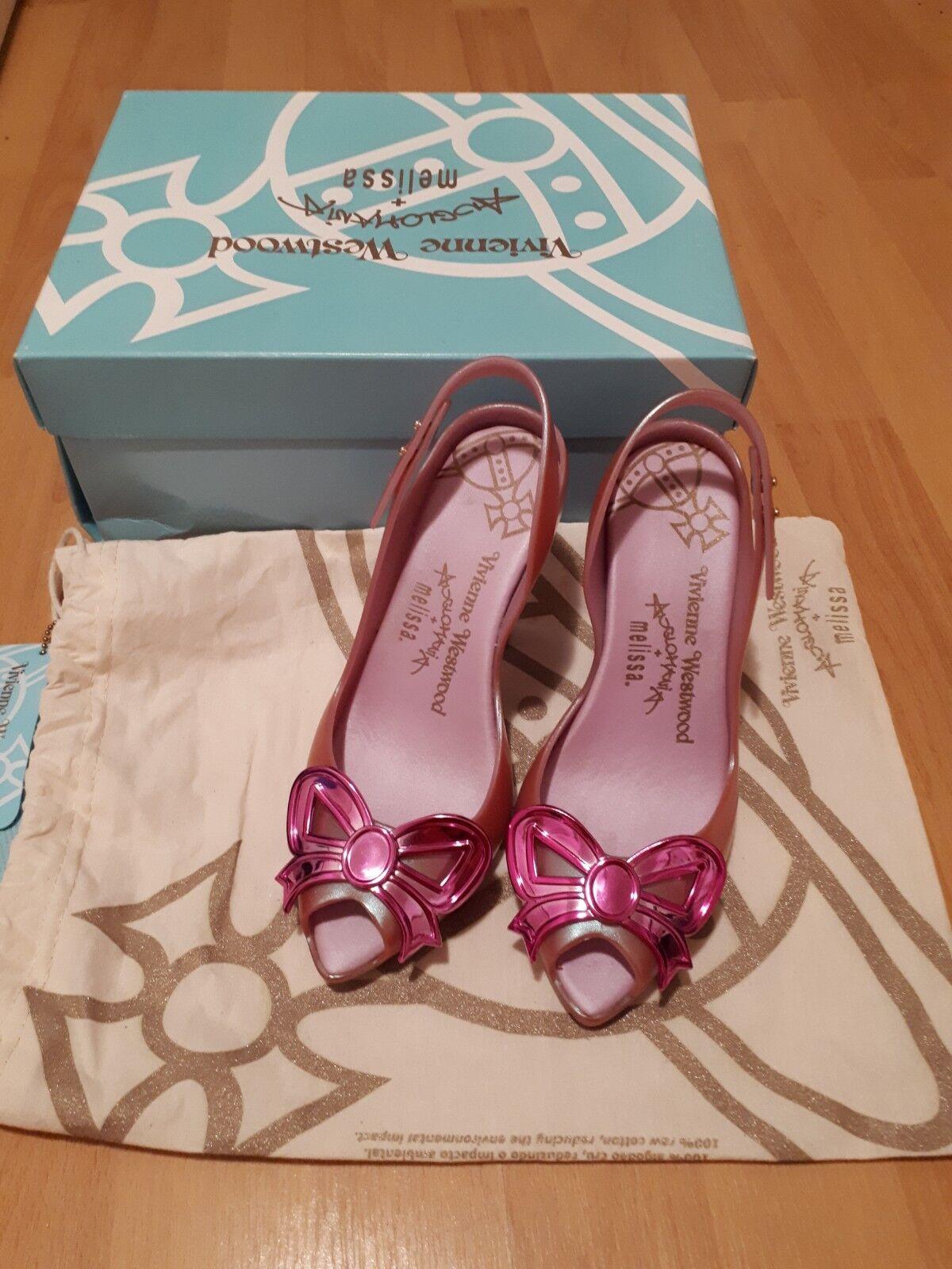 VIVIENNE WESTWOODMELISSA LADY DRAGON DRAGON DRAGON heels shoes slip on size uk3 EUR 35 36 56d4f4
