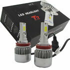 2Pcs 55W H8/H9/H11 6000K CREE LED Headlight 12V Car Conversion Bulbs Kit White