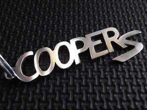 Schlüsselanhänger Auto & Motorrad: Teile Kompetent Mini Cooper S Schlüsselanhänger Turbo Convertible Coupe Rs R56 Anhänger Emblem