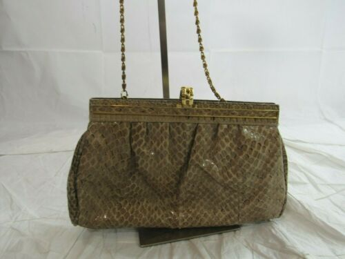 Pantera Snakeskin Handbag Clutch