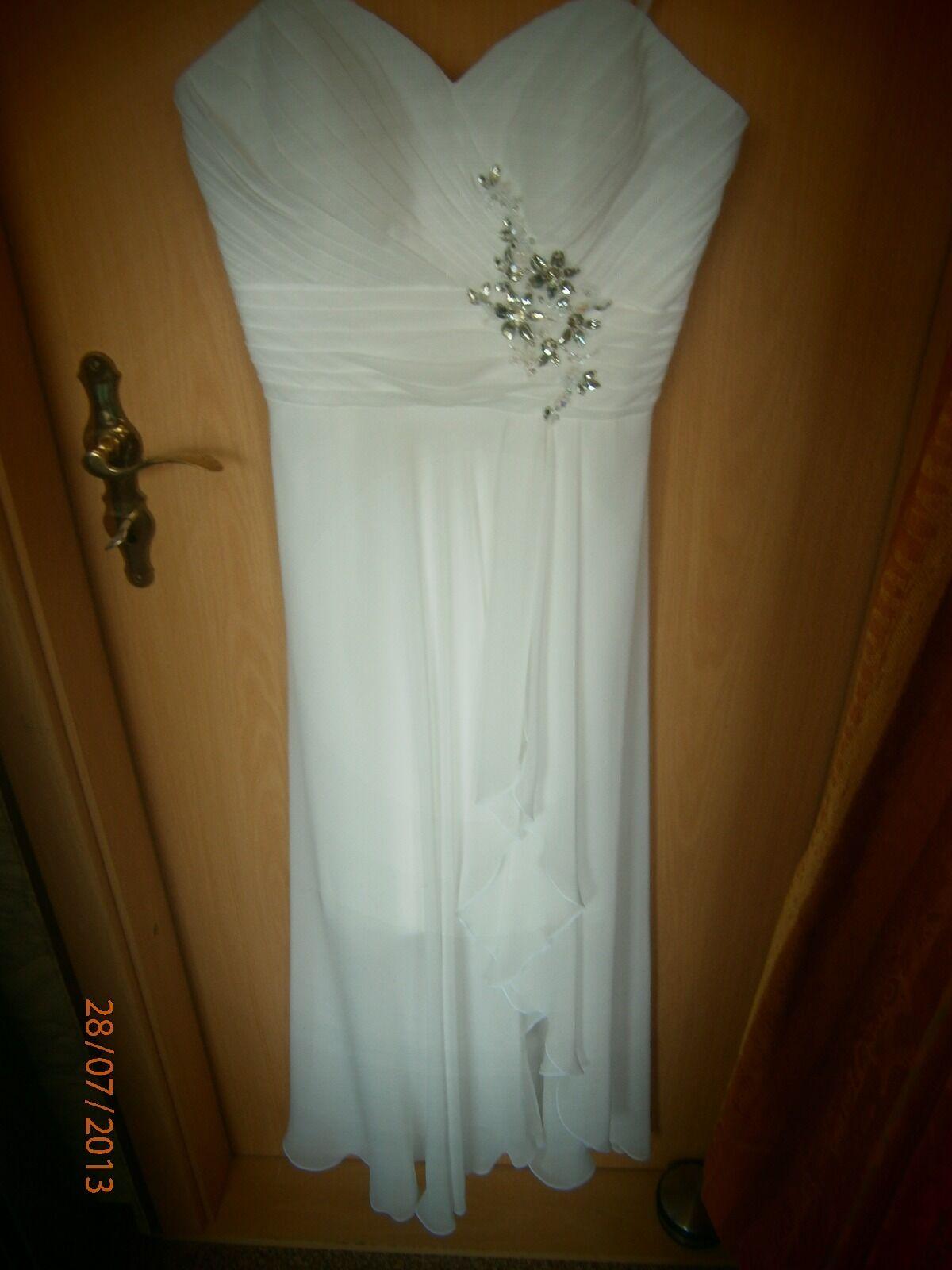 Braut- oder Abendkleid  38 38 38 d03034