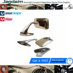 New-Jaguar-Daimler-XJ6-XJ12-Series-1-amp-2-Door-Mirrors-BD47263-BD47264