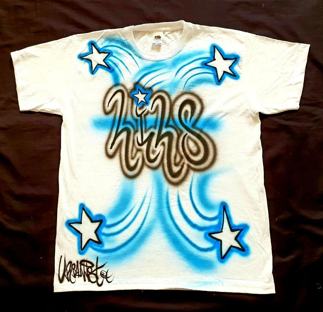 Urbanist personalised airbrushed Graffiti Hip Hop Streetdance child's T-Shirt