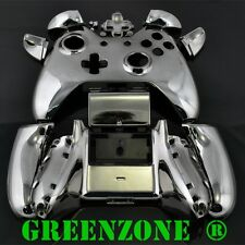 Black Chrome Xbox One Replacement Custom Controller Shell with Buttons Mod Kit