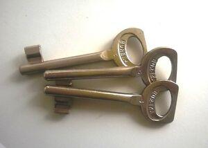 Chiave Eureka Patent N.5 Nichelata Porta Interna Cantina Pz.1 Serratura Infilare 3pylcphu-07175239-102032340