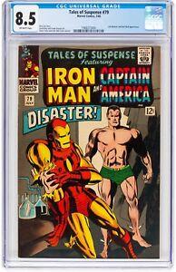 Tales of Suspense #79 (Jul 1966, Marvel Comics) CGC 8.5 VF +