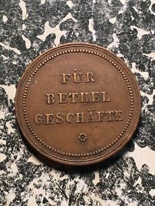 U//D Gruna Germany 20 Pf 1 Coin Only Hotel Claus Notgeld Token Circulated