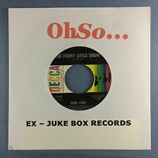 Burl Ives - The Funny Little Show - JUKEBOX READY - Decca 32165 Ex