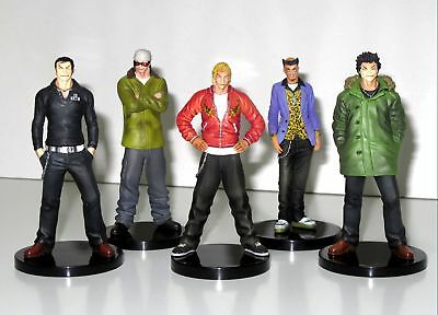 ORGANIC japan anime CROWS WORST BAD BOYS figure BLACKLIST STYLISH WAKO u