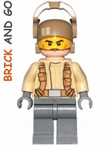 LEGO-Minifig-Figurine-Star-Wars-SW698-Resistance-Trooper-Blaster-NEUF-NEW