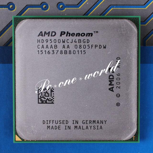 100% OK HD9500WCJ4BGD AMD Phenom X4 9500 2.2 GHz Quad-Core Processor CPU