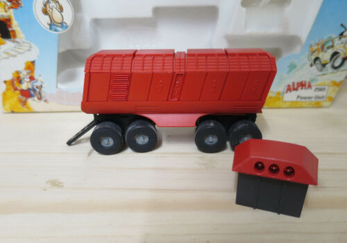 different pieces new packaging mb märklin alpha wagon red yellow /& black