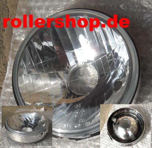 60//55 Watt Scheinwerfer Einsatz Aprilia Habana Custom 125 ccm