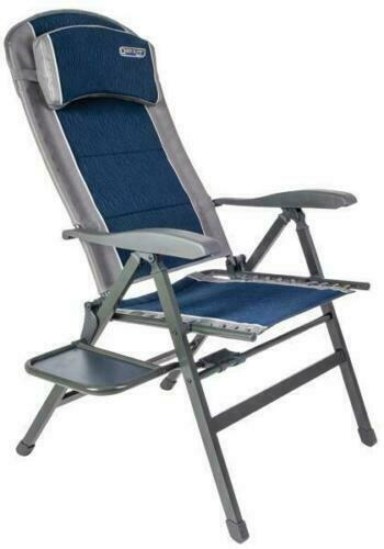 Quest Ragley Pro Comfort chair with side table Caravan Garden Chair F1302 NEW