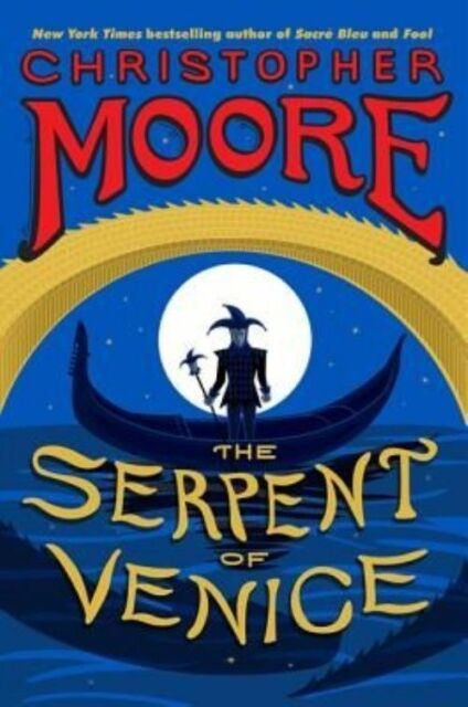 The Serpent of Venice-ExLibrary