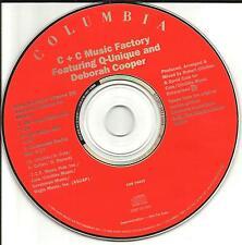 C&C MUSIC FACTORY Keep it comin 3 MIXES PROMO CD Single BUFFY THE VAMPIRE SLAYER