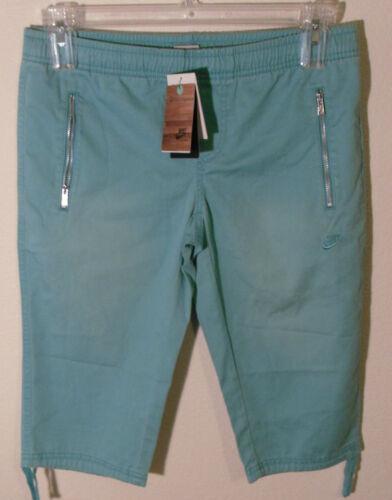 para 60 Nwt Aqua de capri Msrp de Nike mujeres Sportswear M Pantalones entrenamiento estilo libre rzqr1ATF6w