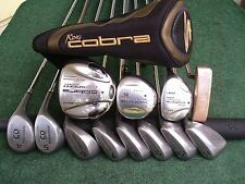 Ladies Cobra Bridgestone Hybrid Irons Driver Wood Complete Golf Club Set RH