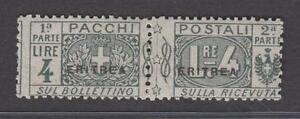 1916-Colonie-Eritrea-P-Postali-d-039-Italia-L-4-grigio-nero-linguellato-lotto985