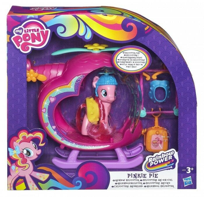 My Little Pony Rainbow Power Pinkie Pie Helicopter Playset