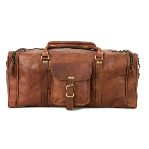 Wochenende Herren Reisetasche Leather Über Groß Beautiful Turnhalle Gepäck Nacht OIAwO