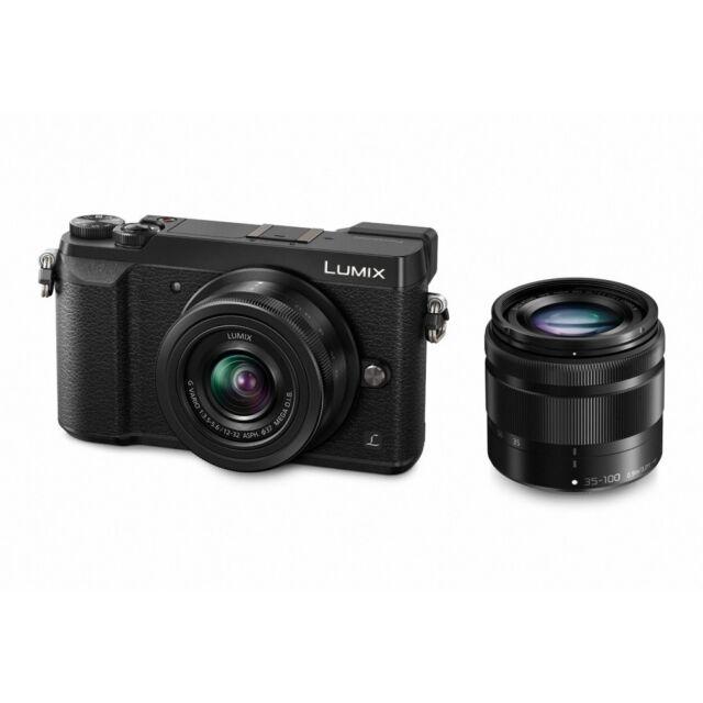 Panasonic Lumix GX80 double kit 12-32 IOS 35-100 IOS Garanzia 4 anni FOWA