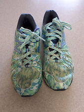 """New Balance """"890 v2"""" Blue and Green Running Shoes. Women's 8.5 B (eur 40)"""
