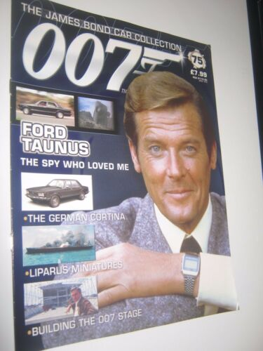 JAMES BOND CAR COLLECTION 75* Magazine