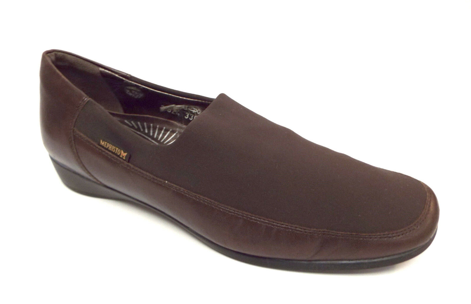 MEPHISTO Air-Relax Size 11 Brown Micro Fiber Leather Loafers Flats shoes