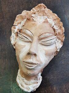 Sculpture Terracotta Woman Africaine. Ref63762