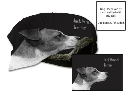 45x31 Jack Russell Terrier Dog Bed Car Blanket Soft Fleece Throw Cover Animal
