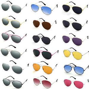 New-Aviators-Sunglasses-Fashion-80s-Retro-Designer-Shades-Mens-Womens-Ladies