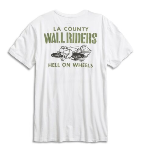 Men/'s M So Cal Wall of Death Motorcycle Tee NWT Lucky Brand