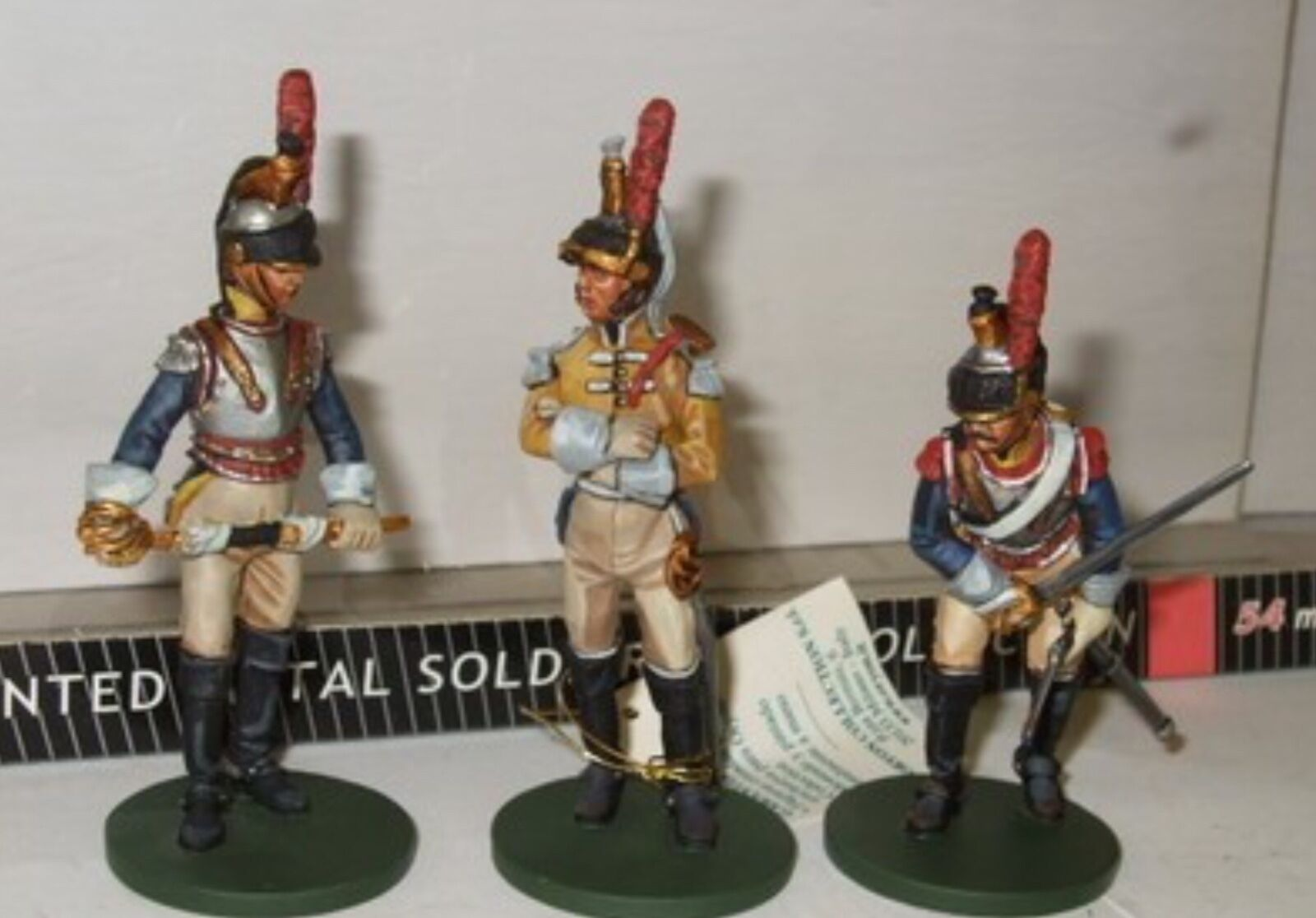 Oryon ART toy soldiers. 6003 French  Cuirassiers  1809 54mm metal.