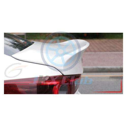 For Mazda 3 AXELA 2014-2018 Rear Tail Trunk Spoiler Wing Lip Trim k Integrated