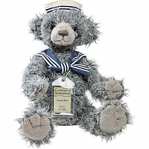 Special Offer rrp £70 Silver Tag Bears Alice Complete With Gift Bag