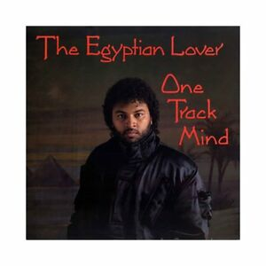 Egyptian-Lover-One-Track-Mind-LP-MINT