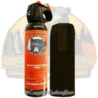 Udap Bear Pepper Spray W/ Holster Legal In Ny 12vhp