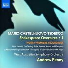 Mario Castelnuovo-Tedesco: Shakespeare Overtures, Vol. 1 (CD, Aug-2010, Naxos (Distributor))