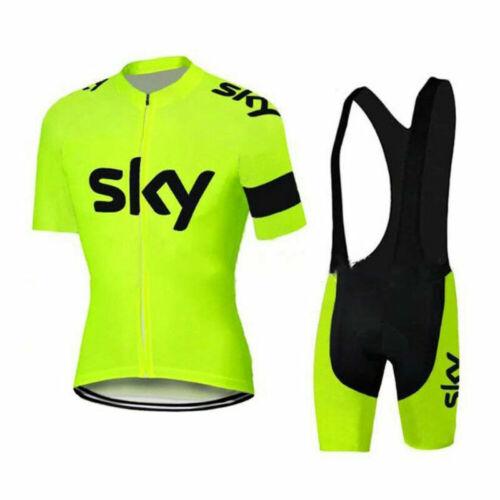Mens Cycling Clothing Set Jersey Short Bib Shorts Set Summer Bike Outfits Kits