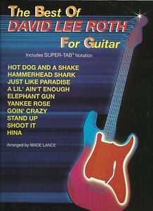 Details about The Best of Dave Lee Roth for Guitar Tab for Easy Guitar plus  Chords