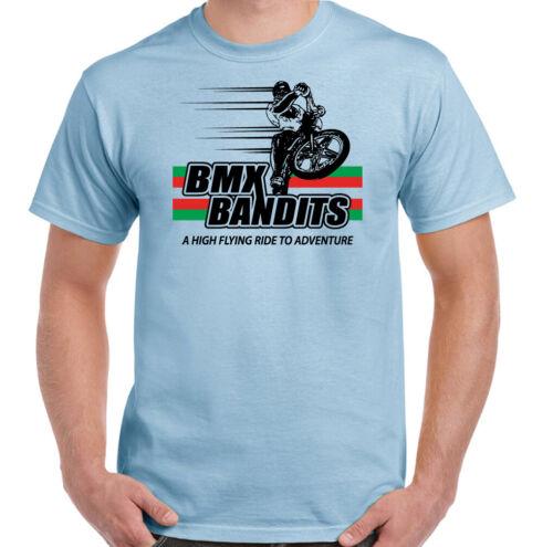 BMX BANDITS T-Shirt Homme Rétro Film Top Années 80 Film Cyclisme Vélo VTT Chopper