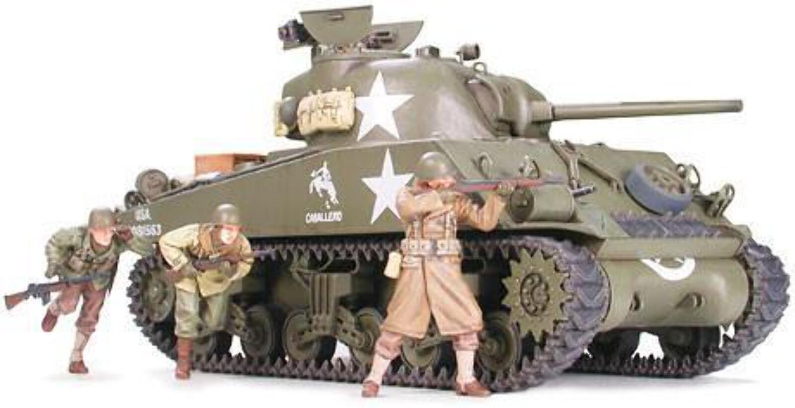 Tamiya U.S. Medium Tank M4A3 Sherman 75mm Gun Late Production