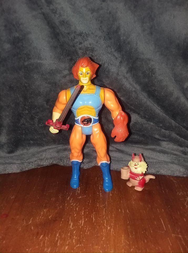 Lion-O & Snarf LJN Thundercats action figures Orange hair