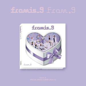 fromis 9 from 9 special single album cd photocard on pack poster