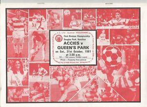 1981-82-League-October-Hamilton-Academical-v-Queen-039-s-Park
