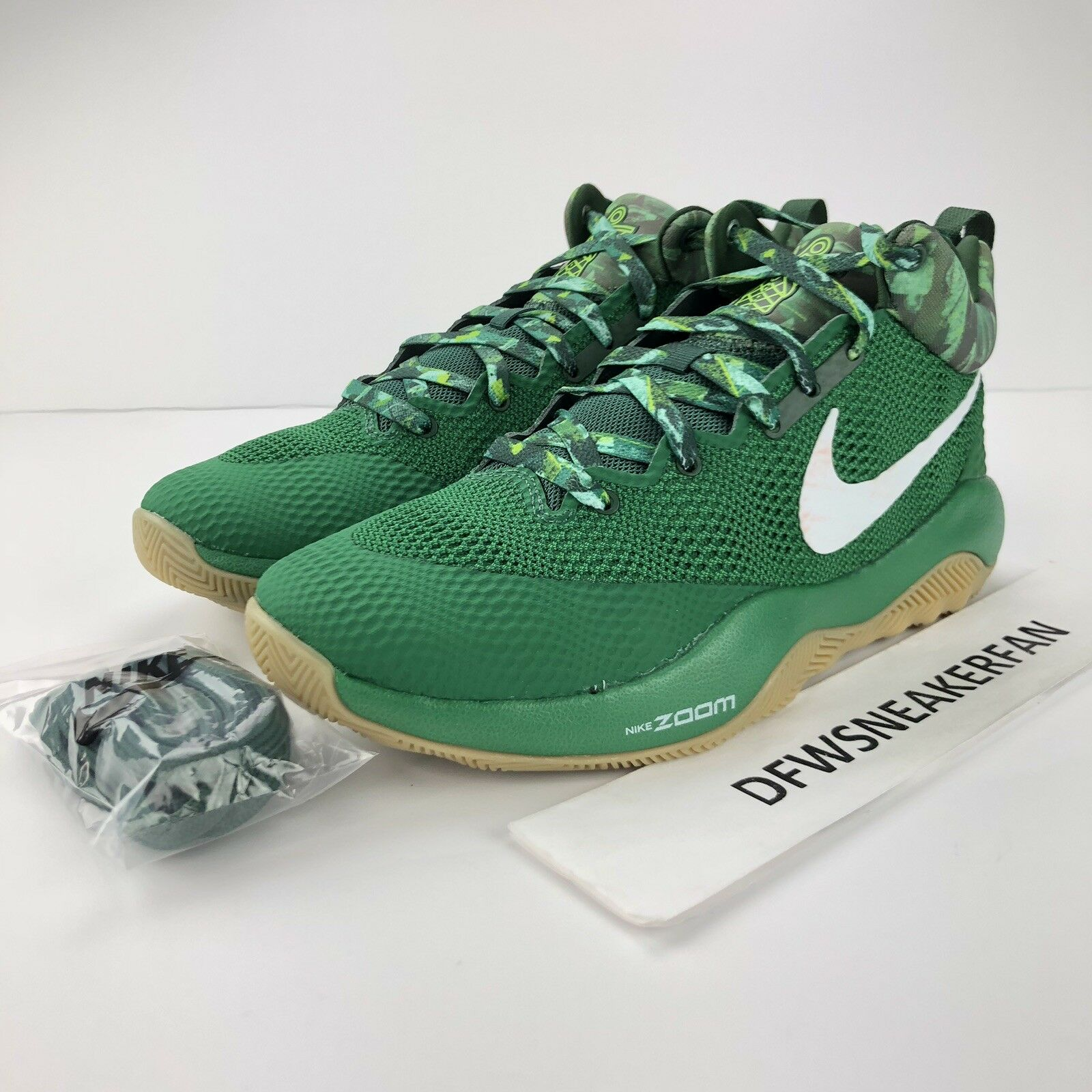 Nike Zoom HyperRev LMTD Basketball shoes Sz 9.5 Green Gum  906874 300 New